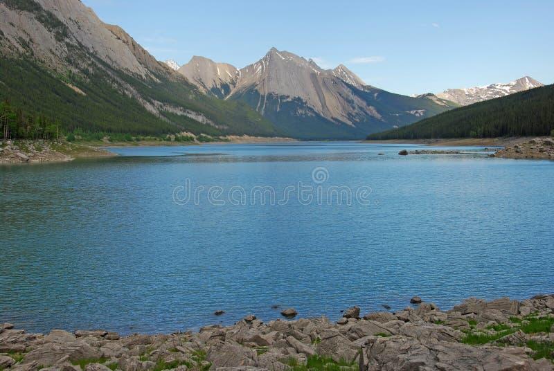 Lago medicine fotografia stock