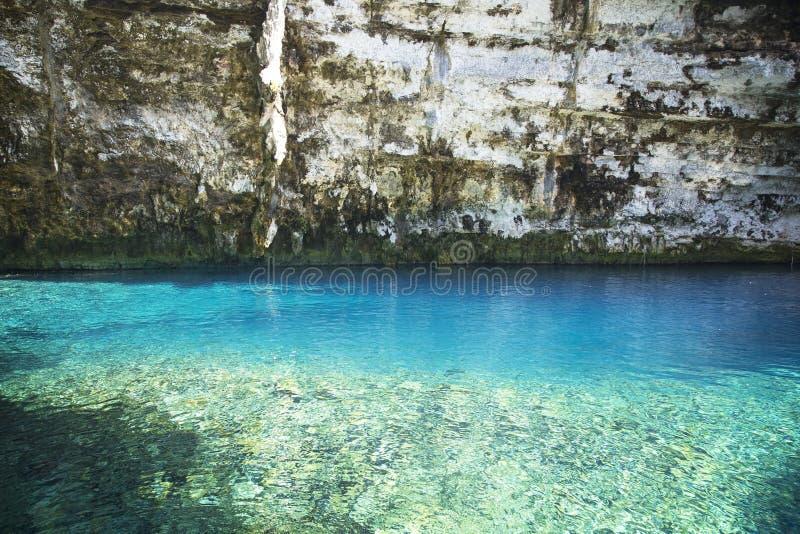 Lago Melissani em Kefalonia fotos de stock