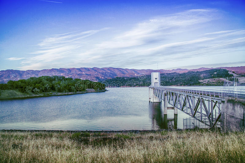 Lago Mendocino immagini stock libere da diritti