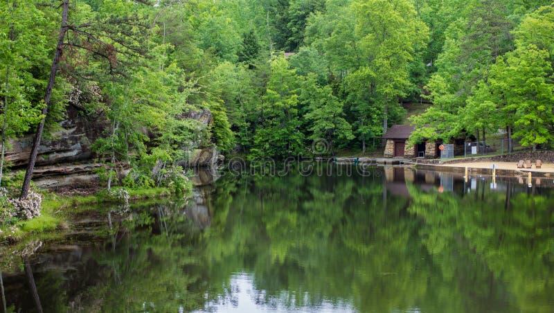 Lago meridional summer imagen de archivo libre de regalías