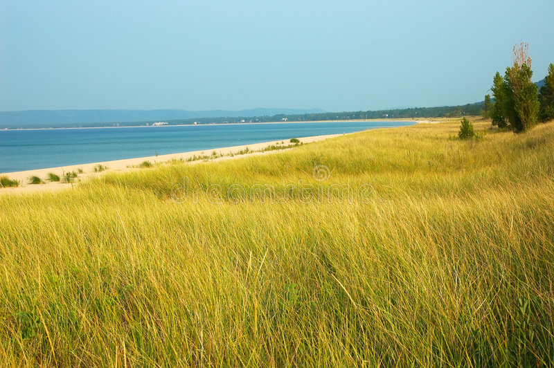 Lago Michigan imágenes de archivo libres de regalías