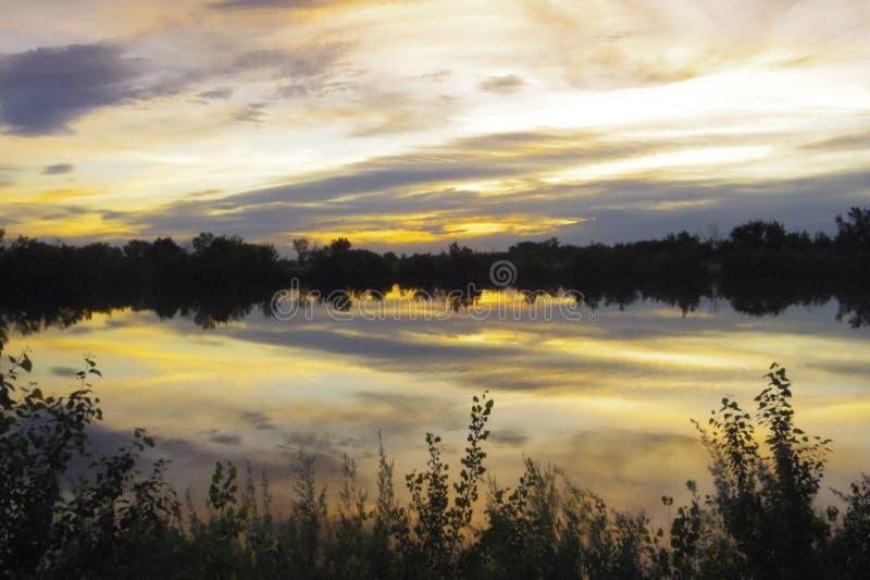 Lago Middleton fotos de archivo
