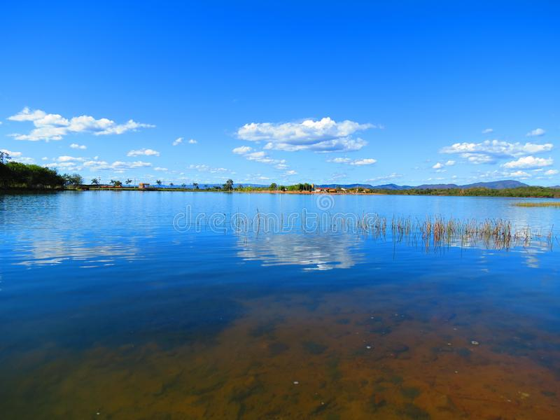 Lago Minaçu fotografia stock