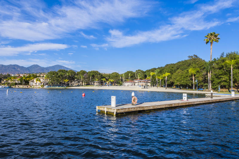 Lago Mission Viejo fotografie stock