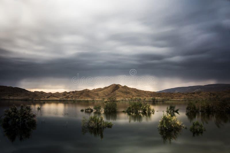 Lago misterioso foto de archivo libre de regalías