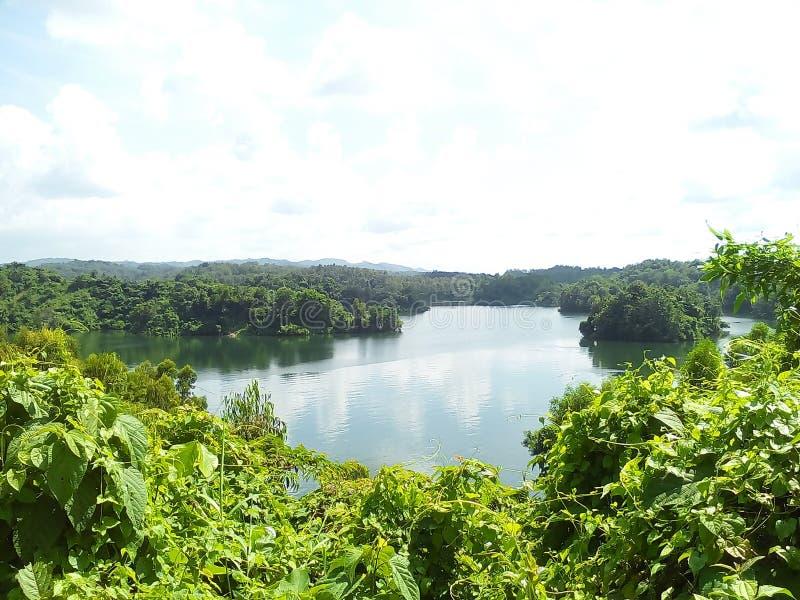 Lago Mohamaya, Chittagong fotografia de stock royalty free
