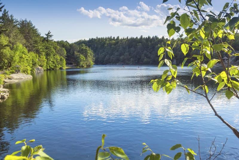 Lago Mohonk fotografía de archivo libre de regalías