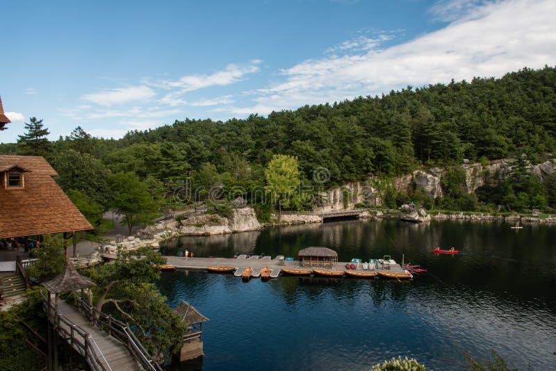 Lago Mohonk en el verano fotos de archivo libres de regalías