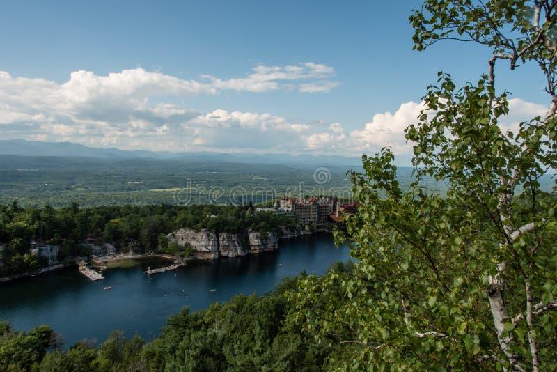 Lago Mohonk no verão foto de stock royalty free
