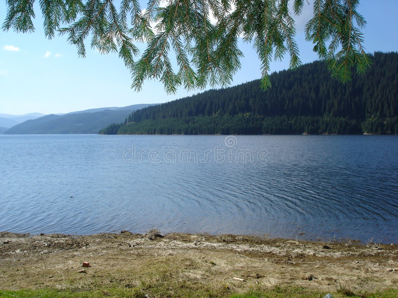 Lago Montain imagen de archivo libre de regalías