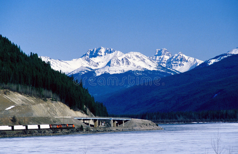 Lago moose A.C. fotografía de archivo libre de regalías