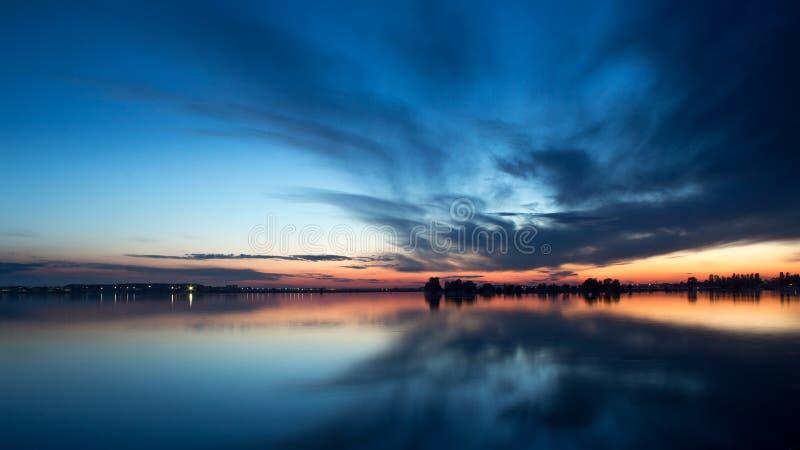 Lago Morii fotografia stock