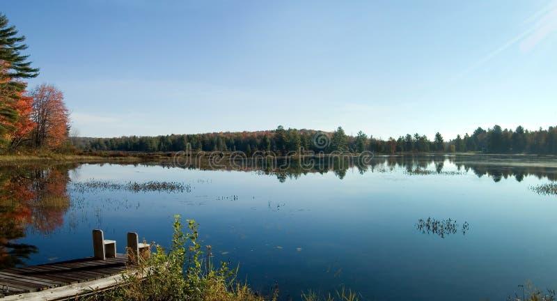 Lago morning imagenes de archivo