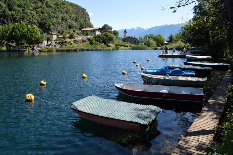 Lago Moro immagini stock
