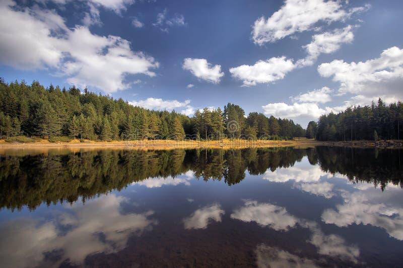 Lago mountain immagine stock libera da diritti