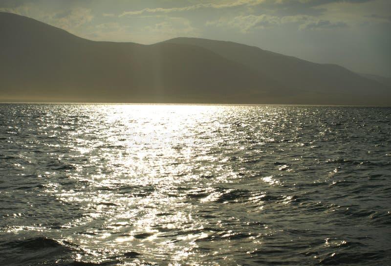 Lago mountain di Chaghytay nel Tuva La Russia fotografia stock libera da diritti