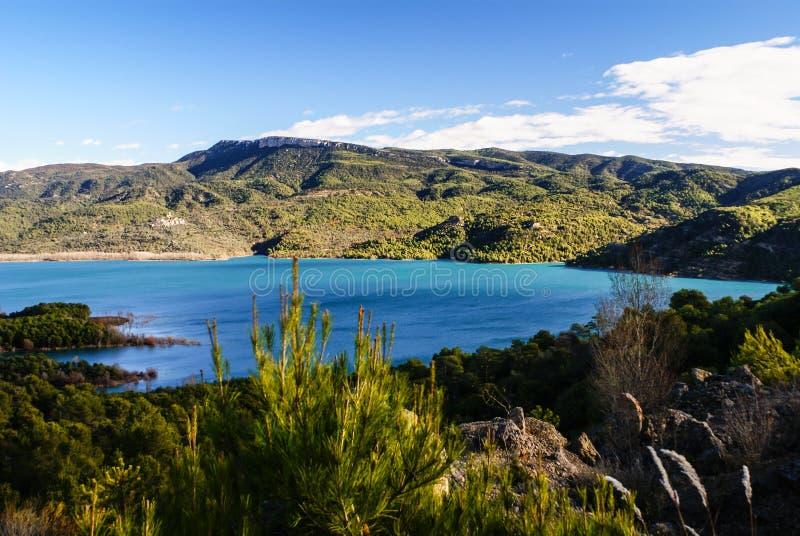 Lago mountain in Pirenei, Huesca, Spagna. immagini stock libere da diritti