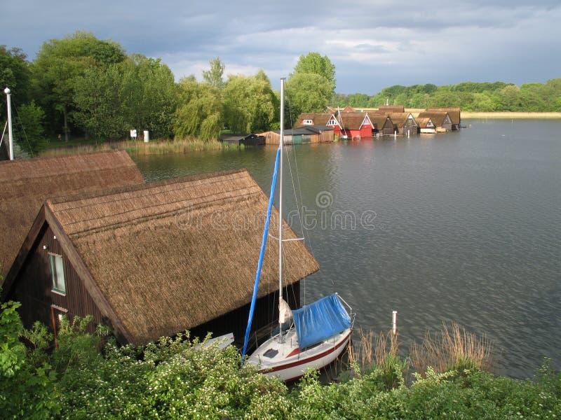 Lago Mueritz imagem de stock