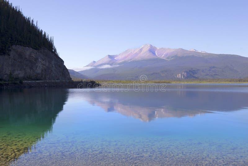Lago Muncho immagine stock libera da diritti