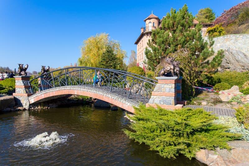 Lago na vila de Buki Ukraine imagens de stock