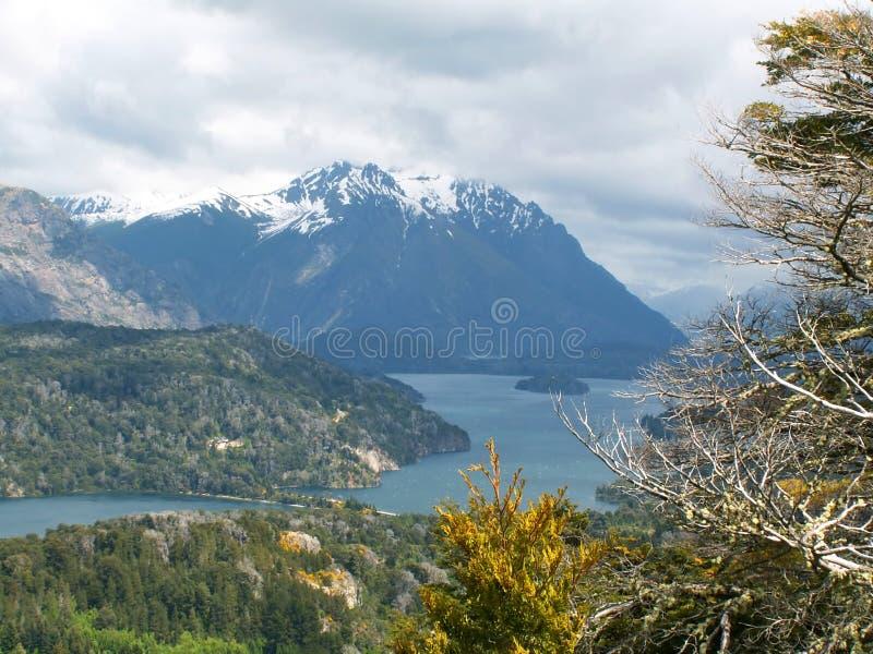 Lago Nahuel Huapi fotos de stock