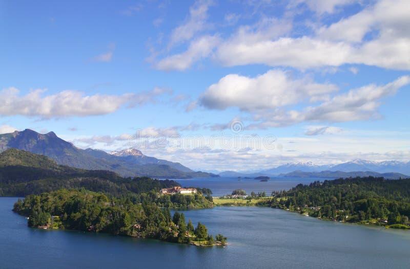 Lago Nahuel Huapi imagenes de archivo