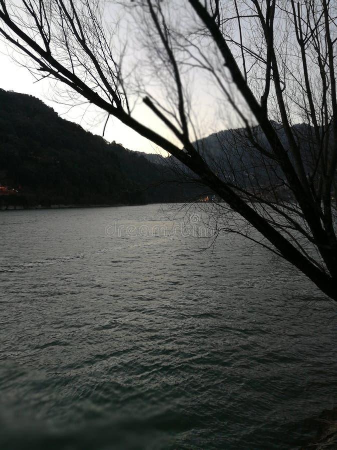 Lago Nainital fotos de archivo