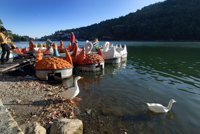 Lago Nainital foto de archivo libre de regalías