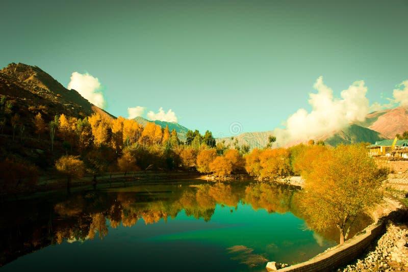 Lago Nako imagens de stock royalty free
