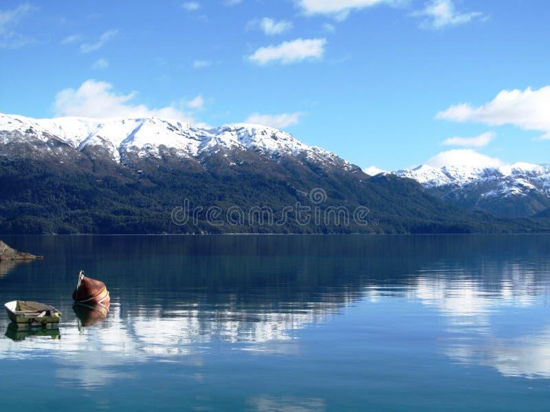 Lago Nauel Uapi fotos de archivo