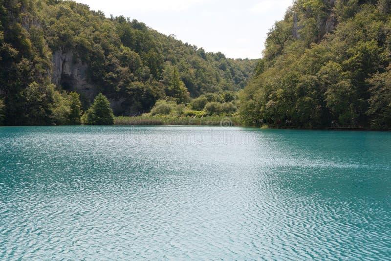 Lago nel croatia fotografie stock libere da diritti