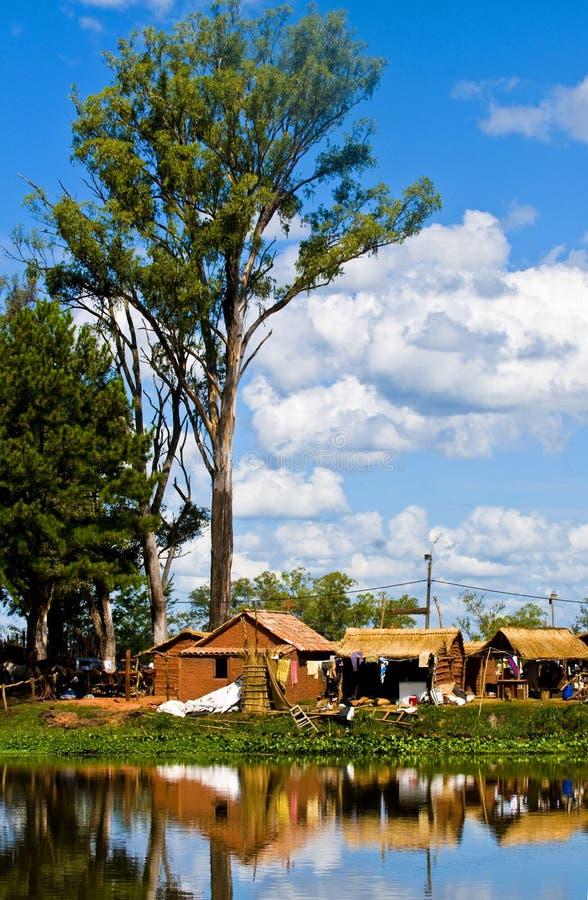 Lago nell'Uruguai fotografia stock libera da diritti