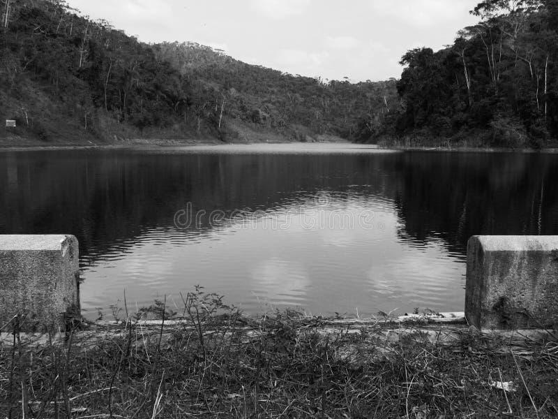 Lago nero immagini stock libere da diritti