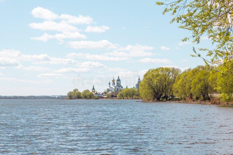 Lago Nero na região de Yaroslavl fotografia de stock