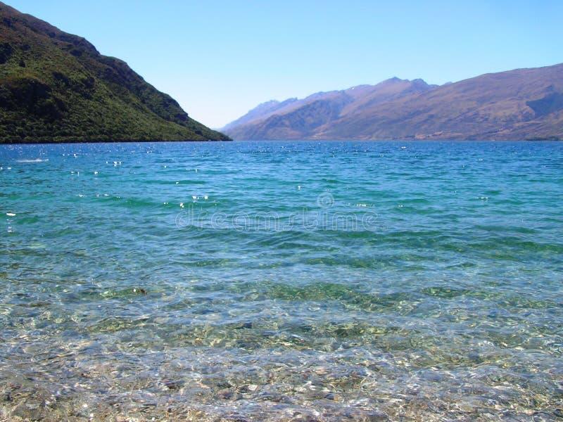 Lago new Zealand fotos de archivo