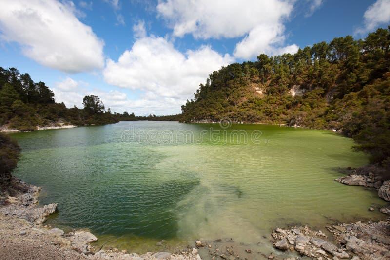 Lago Ngakoro fotografía de archivo