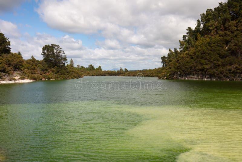 Lago Ngakoro fotos de archivo libres de regalías