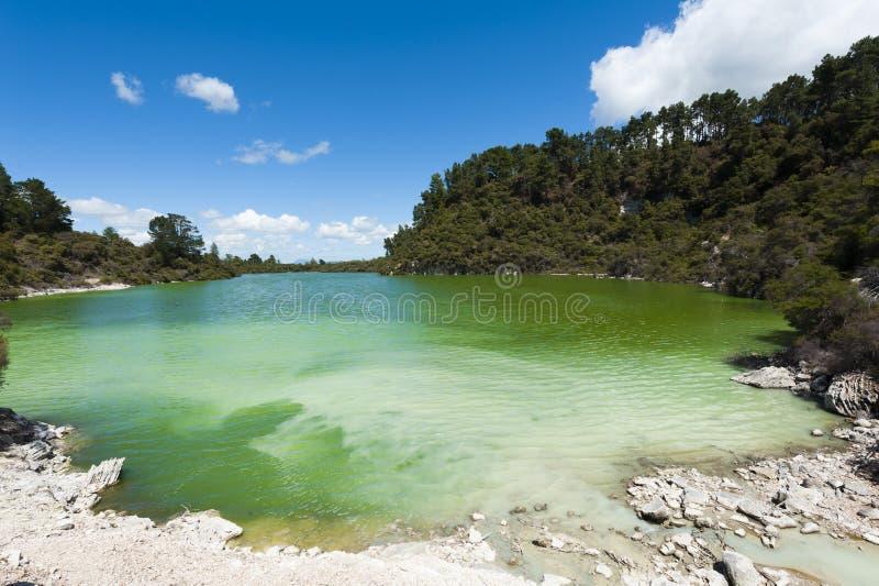 Lago Ngakoro fotografia de stock