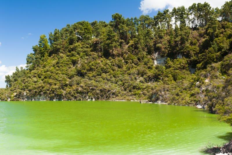 Lago Ngakoro foto de stock