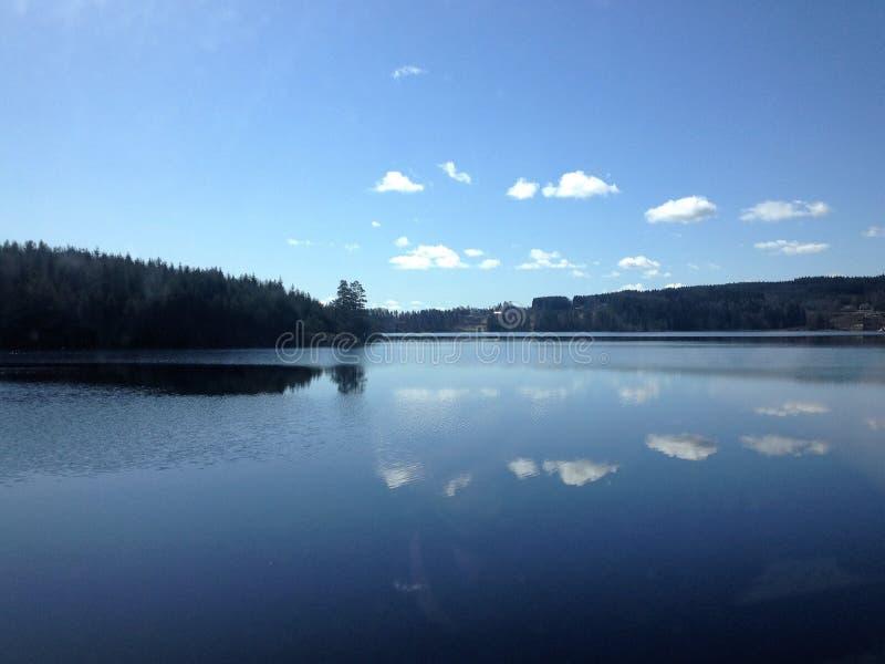 Lago in Norvegia immagini stock