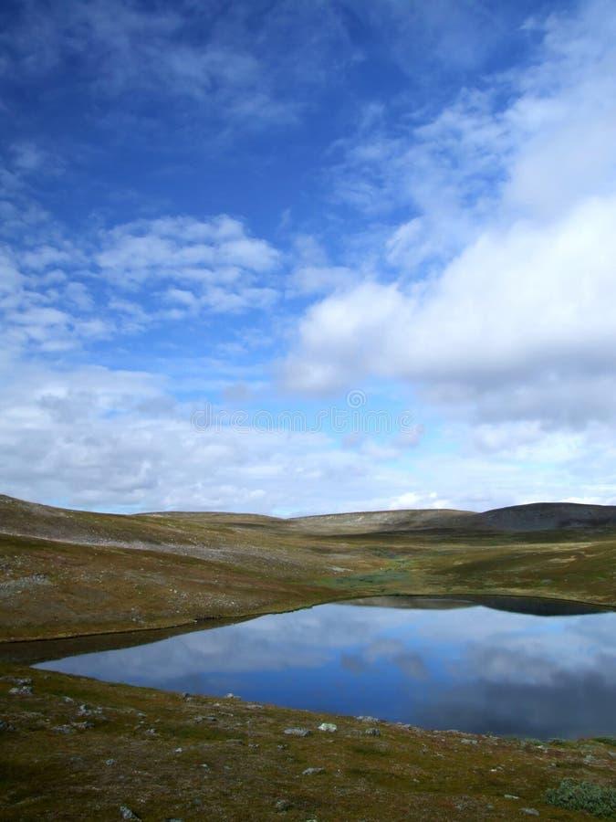 Lago norway fotografia de stock royalty free