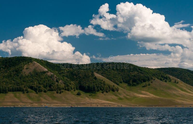 Lago Nugush fotografie stock libere da diritti