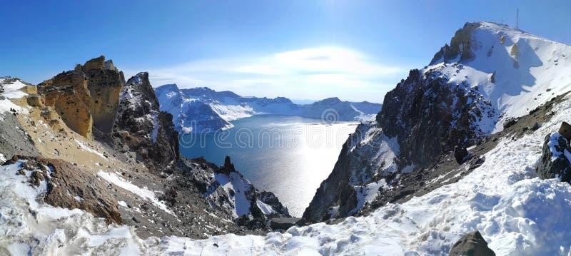 Lago o Tianchi heaven immagine stock libera da diritti