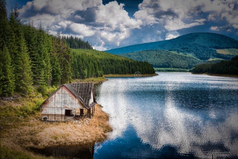 Lago Oasa imagen de archivo