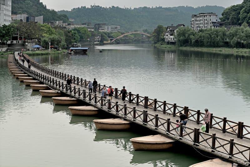 Lago ocidental China-pequeno Wutong fotografia de stock