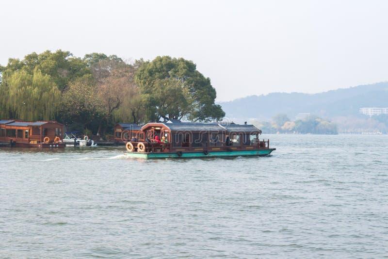 Lago ocidental Hangzhou fotos de stock
