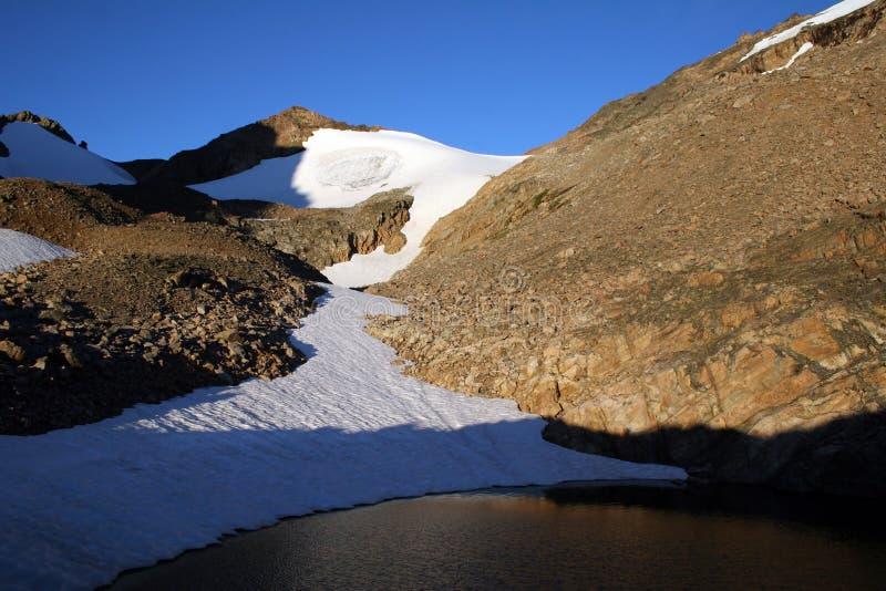 Download Lago Omega E Sella - Montana Immagine Stock - Immagine di luce, ghiacciaio: 209397