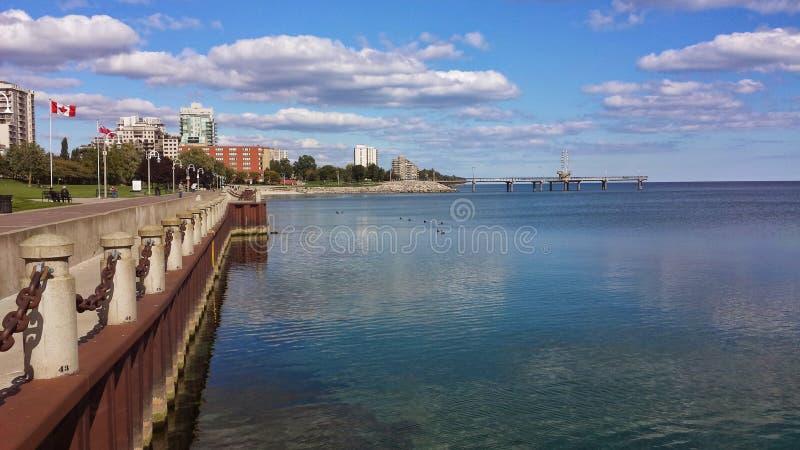 Lago Ontário imagem de stock royalty free