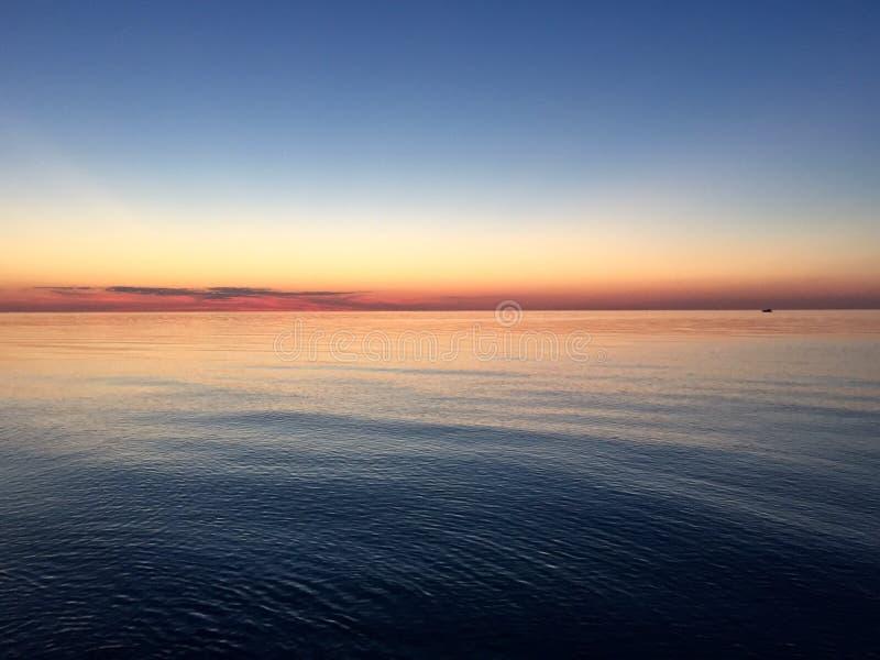 Lago Ontario fotografie stock
