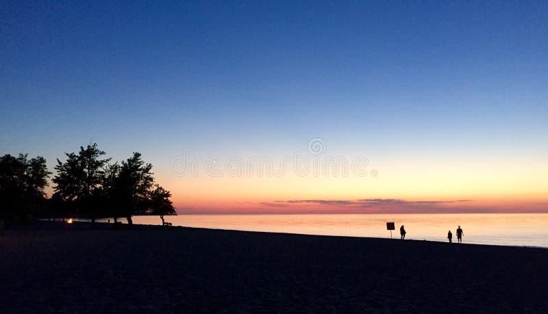 Lago Ontario fotografia stock